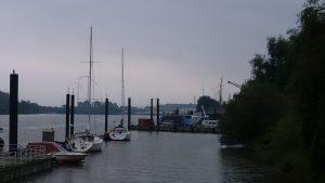 Segelboote der Yachtschule Robert Eichler