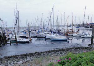 Spiekeroog Hafen, Mai 2018