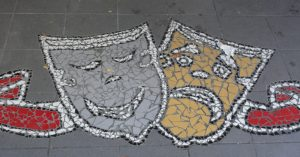 People in the streets