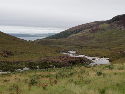 Glen Iorsa, Blick zum Firth of Clyde