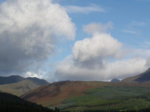 Moutain View, Brodick