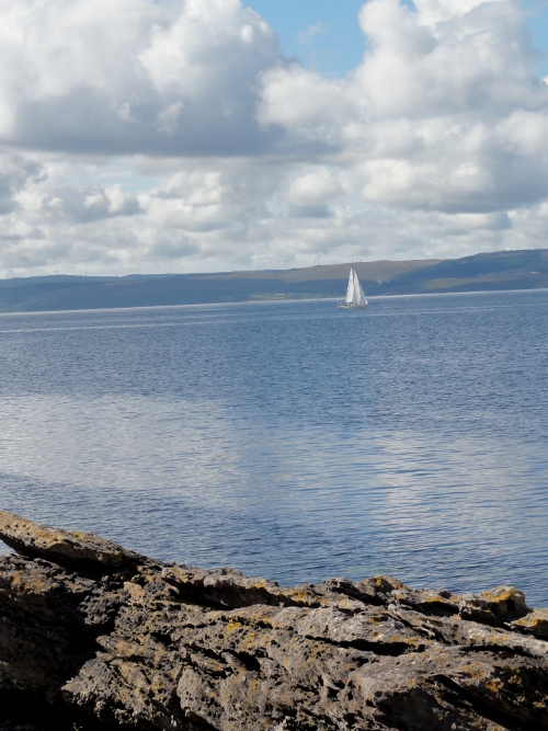 Segelboot, Firth of Clyde