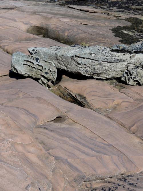 Arran, Felsenküste